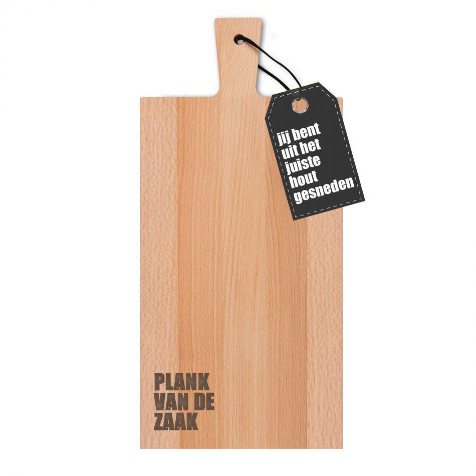 Plank van de zaak