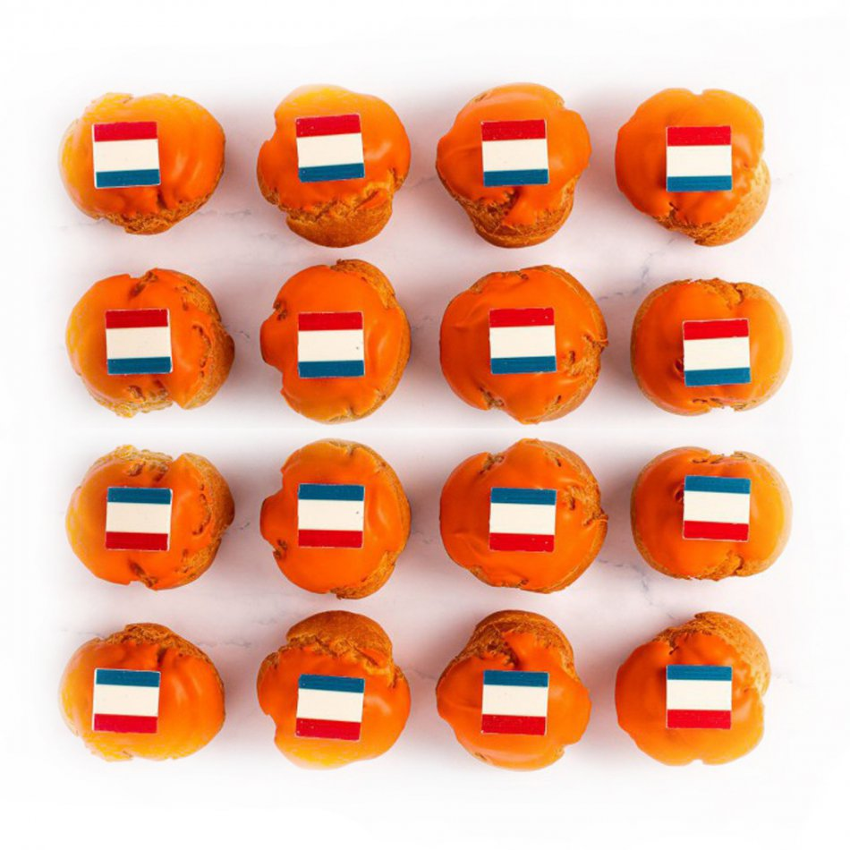 Oranje Soesjes - 16 stuks